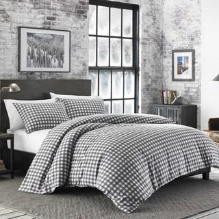 Link to Eddie Bauer Preston Cinder Flannel Duvet Set Similar Items in Duvet Covers & Sets
