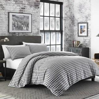 Eddie Bauer Preston Cinder Flannel Comforter Set