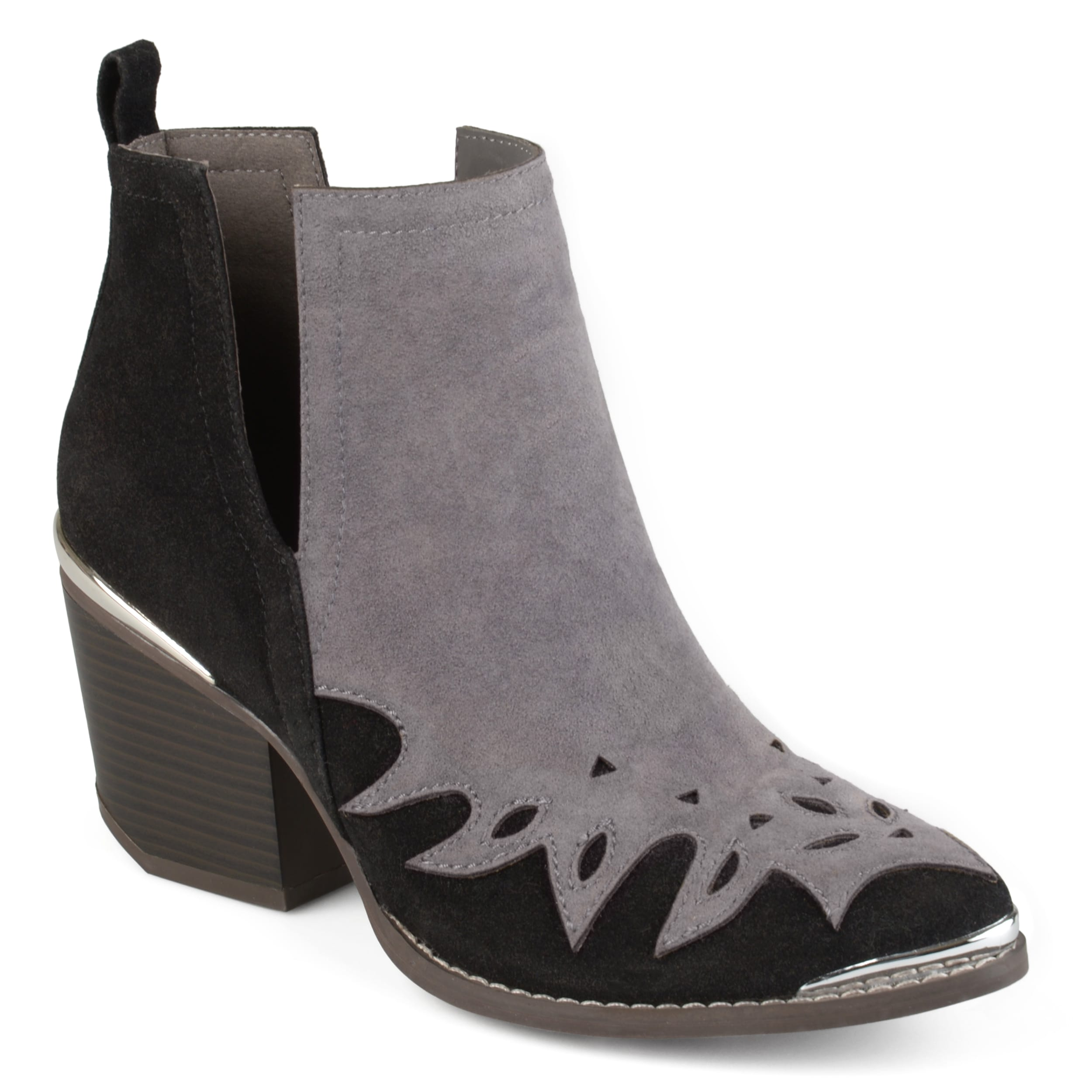 Journee collection Women's 'Dotson' Stacked Wood Heel Wes...