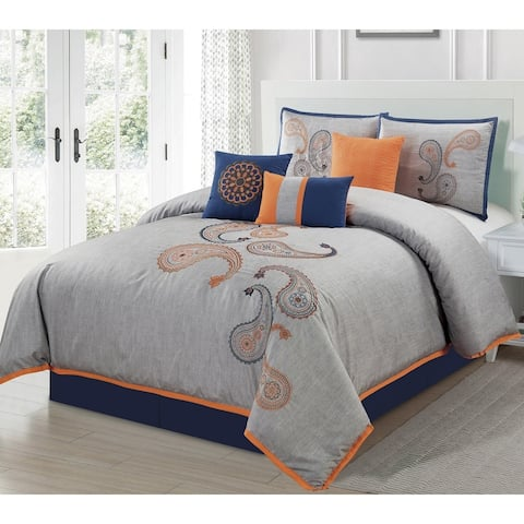 2bd9f4cede Orange, Floral Comforter Sets | Find Great Bedding Deals Shopping at ...
