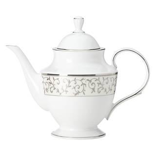 Lenox Opal innocence Silver Teapot