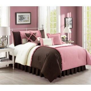 Emiko Quilted 7 Piece Comforter Set