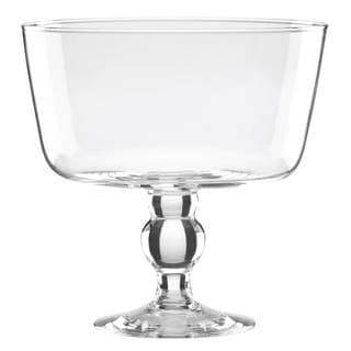 Lenox Tuscany Entertaining Clear Glass Trifle Bowl