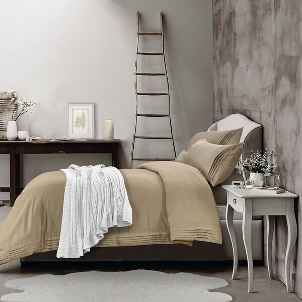 Adrien Lewis - Hotel Pleated Duvet Cover Set