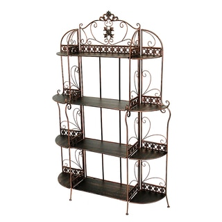 "Oliver 67"" Standard 4 Shelf Bakers Rack"