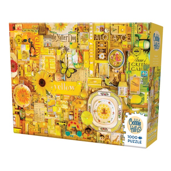 Cobble Hill All Things Yellow Puzzle 1,000 Pieces
