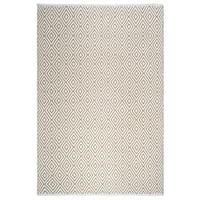 Fab Habitat Veria Indoor/Outdoor Rug - Almond & White (8' x 10') (India)