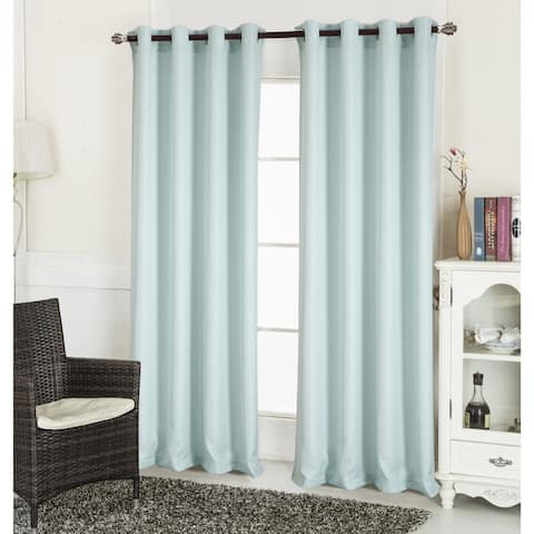 The Gray Barn Yturria Textured 90 Inch Curtain Panel