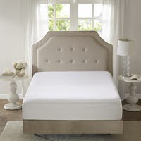 Sleep Philosophy Copper Infused White Zippered Mattress Protector