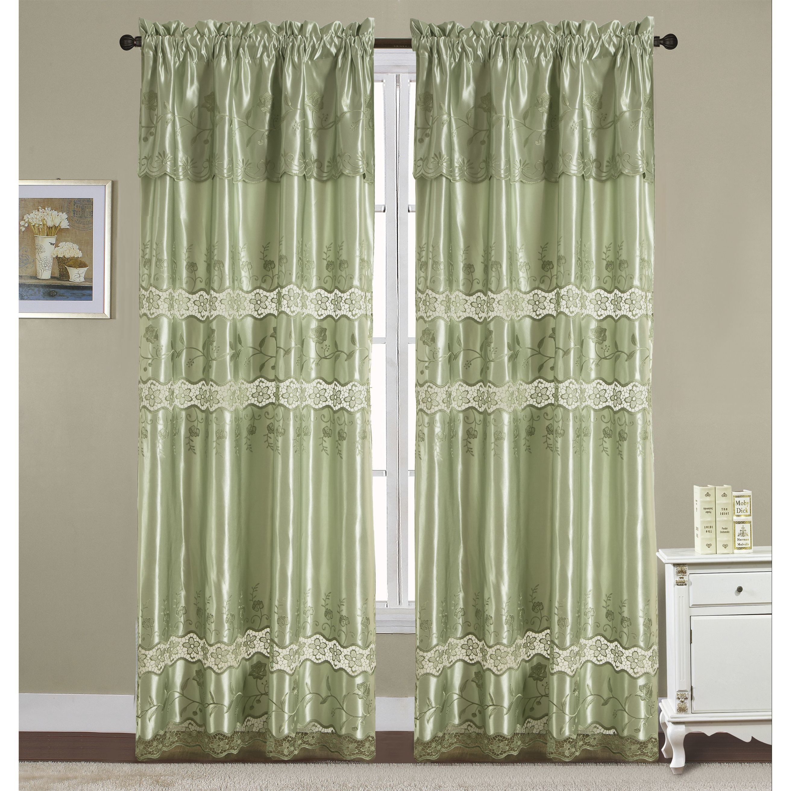 RT Designer's Collection Everly Satin Macrame 84-inch Rod...