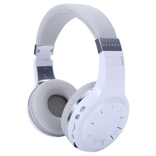 Bluedio H+ Head-mounted Handsfree Wireless Bluetooth Stereo Headphone White