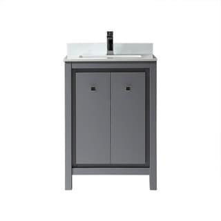 OVE Decors Kevin 24 in. Bathroom Vanity in Pebble Grey
