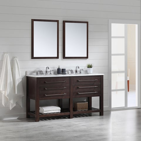 OVE Decors Harry Java Brown 60-inch Bathooom Vanity