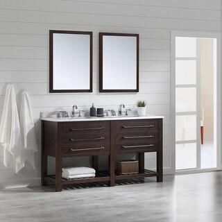 OVE Decors Harry Java Brown 60-inch Bathooom Vanity