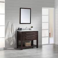 OVE Decors Harry 36 in. Bathooom Vanity in Java Brown