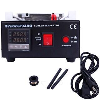 "PSD948Q 8"" LCD Touch Screen Vacuum Separator Cellphone Repair Machine 550W 110V US Standard Plug"