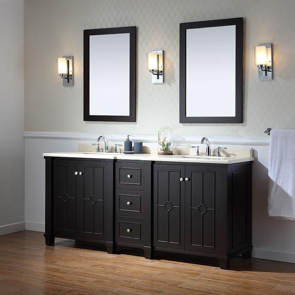 Ove Decors Positano 75 Inch Bathroom Vanity