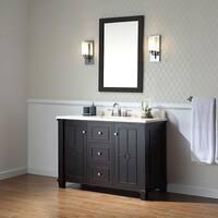 OVE Decors Positano Tobacco Wood 48-inch Bathroom Vanity