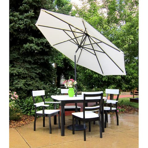 9 Foot Tilt and Crank Octagon O'Bravia Umbrella - Dining Height
