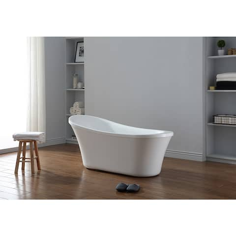 Buy Soaking Tubs Online at Overstock | Our Best Bathtubs Deals on manufactured home shower bathtub, mobile homes with corner bathtub, differentely type of bathtub,