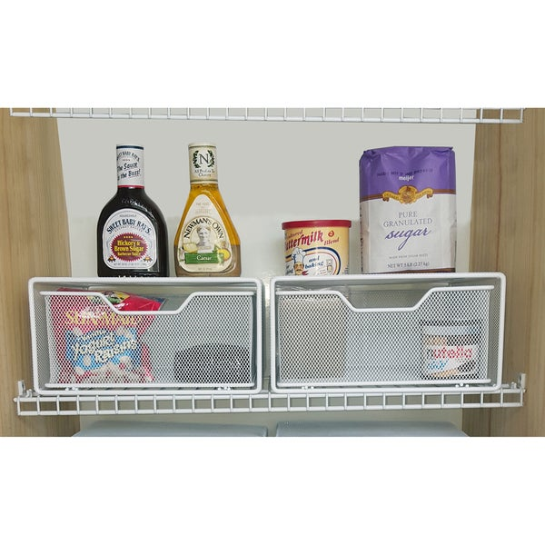 Shop Small Pull Out Pantry Snack Baskets