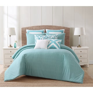Oceanfront Resort Beach House Brights 3-Piece Cotton Comforter Set