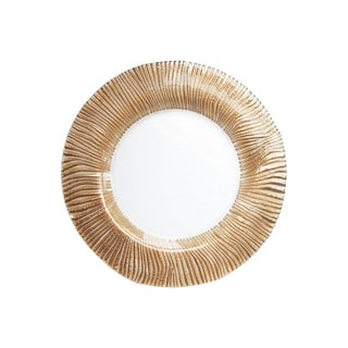 Nilo Rose Gold Charger Plate
