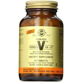 Solgar Iron-Free Formula Vm-75 (90 Tablets)