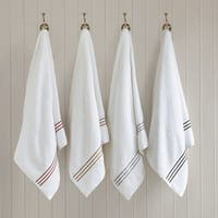 Madison Park Signature Coelho Solid 6-Piece Cotton Towel Set with Embroidery
