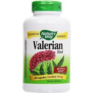 Nature's Way Valerian Root 530 mg (180 Capsules)