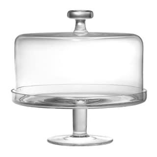 Majestic Gifts Inc. High Quality European Glass Cake Base & Dome Set