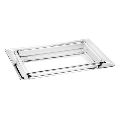 Majestic Gifts Inc. High Quality European Glass Large Tray
