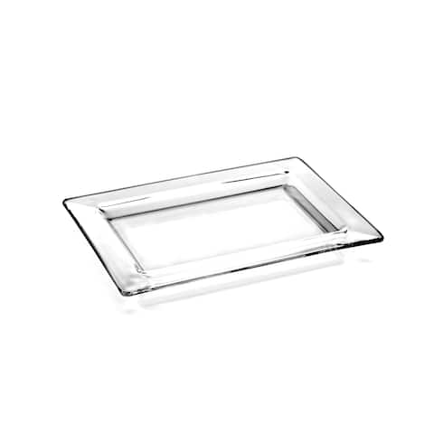 Majestic Gifts Clear Glass Serving Tray