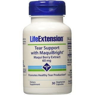 Life Extension Tear Suppport with Maquibright 60 mg (30 Capsules)