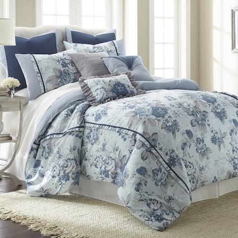 Modern Threads 8-piece Floral Farmhouse comforter set