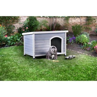 Furniture of America Calon Contemporary House Inspired Plank Style Grey/White Pet House https://ak1.ostkcdn.com/images/products/16418871/P22766129.jpg?impolicy=medium