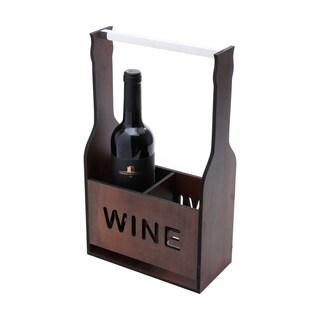 Woodart Wooden Wine Caddy