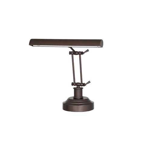 "14"" LED Piano Desk Lamp with Dimmer - Mahogany Bronze"
