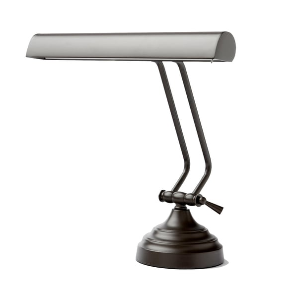 """12"""" LED Piano Desk Lamp with Dimmer - Mahogany Bronze"""