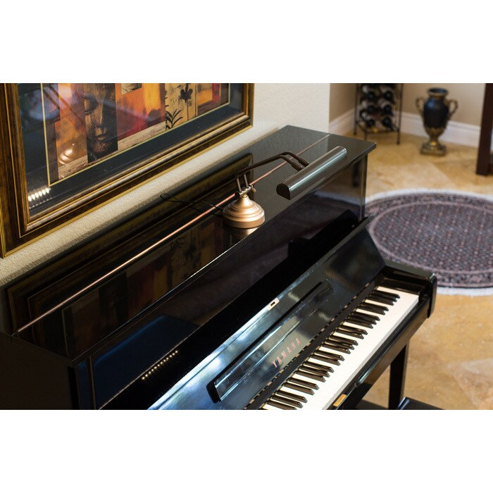 Shop 12 Led Piano Desk Lamp With Dimmer Oil Rubbed Bronze