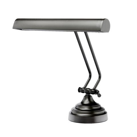 "12"" LED Piano Desk Lamp with Dimmer - Oil Rubbed Bronze"