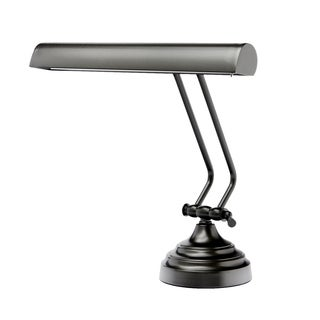 """12"""" LED Piano Desk Lamp with Dimmer - Oil Rubbed Bronze"""
