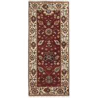 eCarpetGallery Serapi Heritage Red Wool Hand-knotted Rug (2'6 x 6'1)