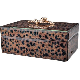 Safari Leopard Print Rectangle Box