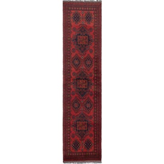 eCarpetGallery Finest Khal Mohammadi Red Wool Hand-knotted Area Rug (2'6 x 10'1)