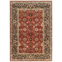 eCarpetGallery Hand-knotted Serapi Heritage Red Wool Rug (6'2 x 8'9)