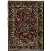 Handmade Herat Oriental Persian Isfahan Wool Rug - 9'11 x 14' (Iran)