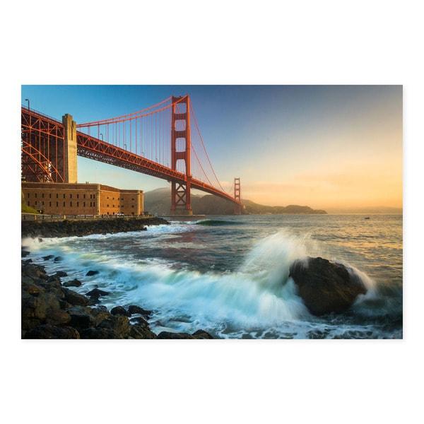 Noir Gallery The Golden Gate Bridge In San Fransisco