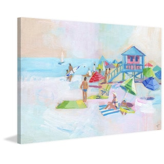 'Surfers Paradise' Painting Print on Wrapped Canvas