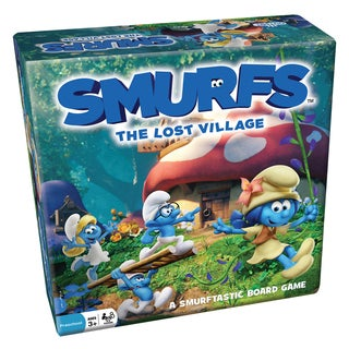 Outset Media Smurfs: The Lost Village Board Game